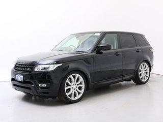 2014 Land Rover Range Rover LW Sport 3.0 SDV6 Autobiography Mariana Black 8 Speed Automatic Wagon.