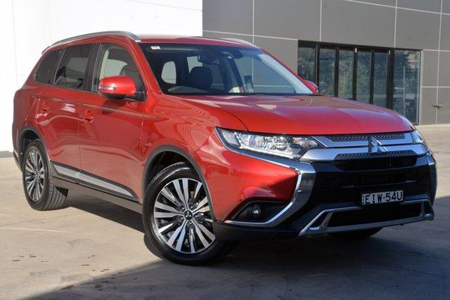 Used Mitsubishi Outlander ZL MY19 LS AWD, 2018 Mitsubishi Outlander ZL MY19 LS AWD Red 6 Speed Sports Automatic Wagon