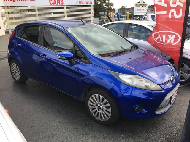Used Ford Fiesta WT CL PwrShift, 2011 Ford Fiesta WT CL PwrShift Blue 6 Speed Sports Automatic Dual Clutch Hatchback