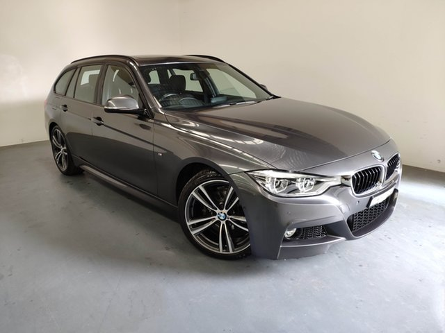 Used BMW 320i F31 LCI M Sport Touring, 2016 BMW 320i F31 LCI M Sport Touring Mineral Grey 8 Speed Sports Automatic Wagon