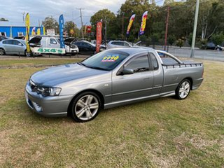 2006 Ford Falcon BF XR6 Ute Super Cab Grey 4 Speed Sports Automatic Utility