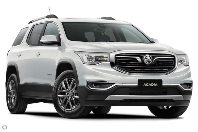 New Holden Acadia AC MY19 LTZ 2WD, 2019 Holden Acadia AC MY19 LTZ 2WD White 9 Speed Sports Automatic Wagon