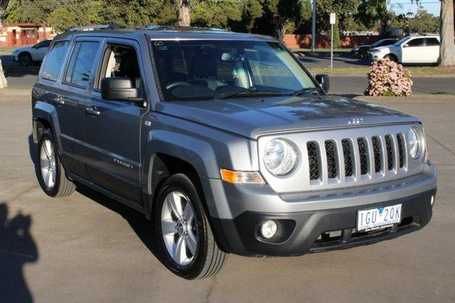 Used Jeep Patriot MK MY16 Limited (4x4) West Footscray, 2016 Jeep Patriot MK MY16 Limited (4x4) Silver 6 Speed Automatic Wagon