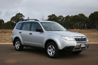 2009 Subaru Forester MY10 X Silver 5 Speed Manual Wagon.