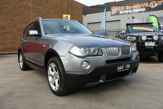2009 BMW X3 E83 MY09 xDrive 20d Lifestyle Grey 6 Speed Auto Steptronic Wagon