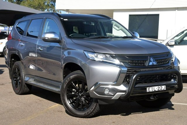 Used Mitsubishi Pajero Sport QE MY19 Black Edition, 2019 Mitsubishi Pajero Sport QE MY19 Black Edition Grey 8 Speed Sports Automatic Wagon