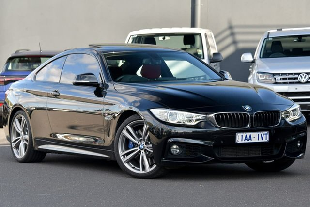 Used BMW 4 Series F32 435i, 2013 BMW 4 Series F32 435i Black 8 Speed Sports Automatic Coupe