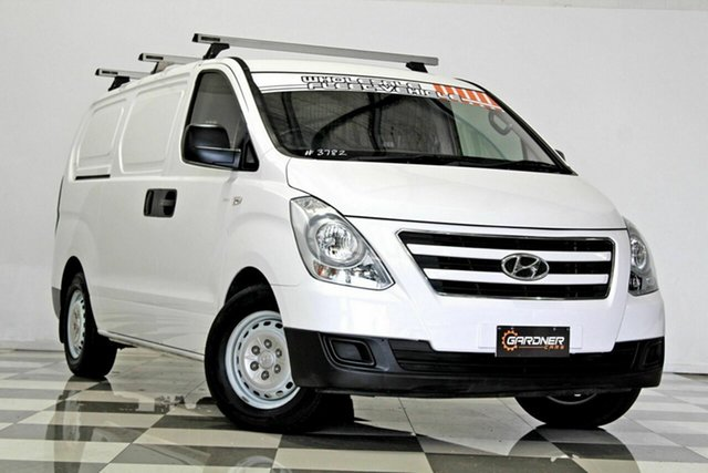 Used Hyundai iLOAD TQ Series II (TQ3) MY1 3S Twin Swing, 2017 Hyundai iLOAD TQ Series II (TQ3) MY1 3S Twin Swing White 5 Speed Automatic Van