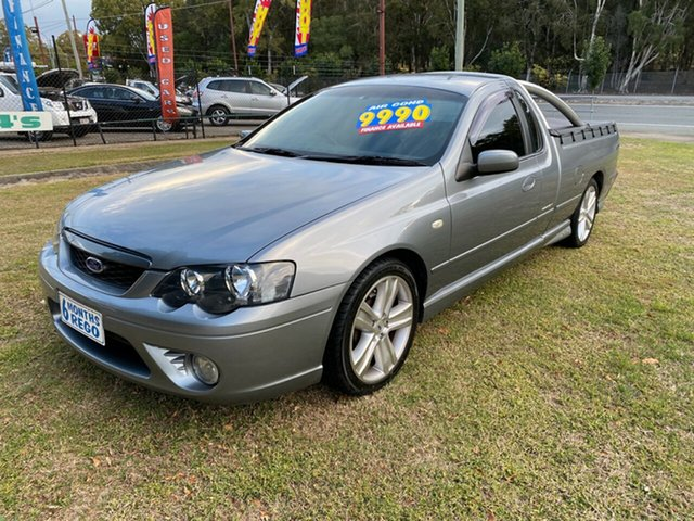 Used Ford Falcon BF XR6 Ute Super Cab, 2006 Ford Falcon BF XR6 Ute Super Cab Grey 4 Speed Sports Automatic Utility