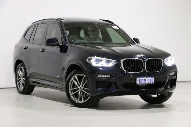Used BMW X3 G01 xDrive20d M Sport, 2019 BMW X3 G01 xDrive20d M Sport Carbon Schwarz 8 Speed Automatic Wagon