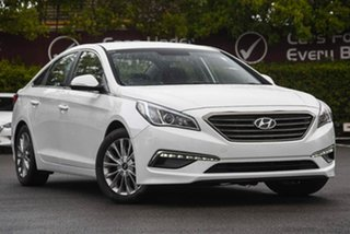 2017 Hyundai Sonata LF3 MY17 Active White 6 Speed Sports Automatic Sedan.