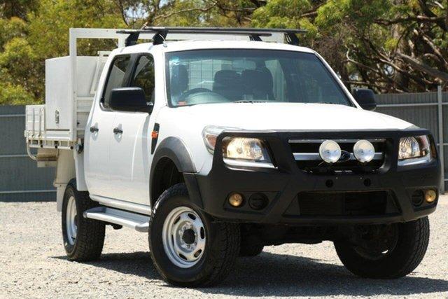 Used Ford Ranger PK XL Crew Cab, 2010 Ford Ranger PK XL Crew Cab White 5 Speed Manual Utility