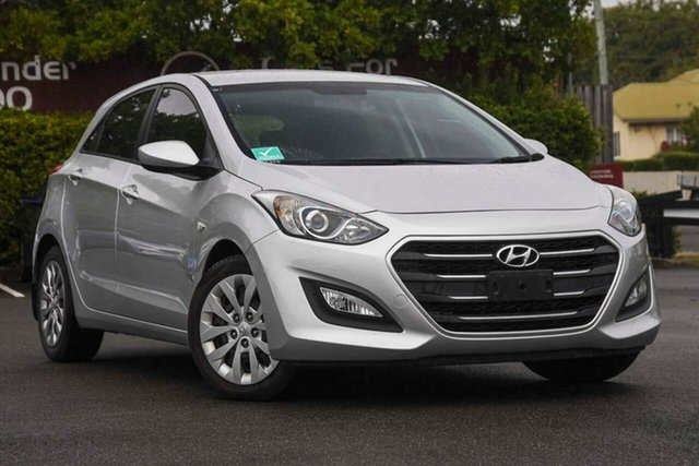 Used Hyundai i30 GD4 Series II MY17 Active DCT, 2016 Hyundai i30 GD4 Series II MY17 Active DCT Silver 7 Speed Sports Automatic Dual Clutch Hatchback