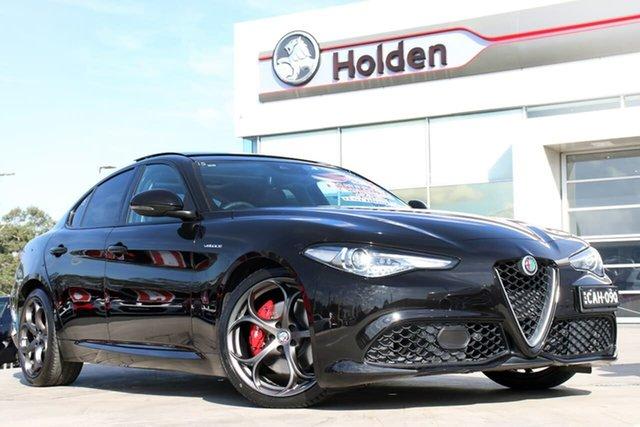 Used Alfa Romeo Giulia  Veloce, 2016 Alfa Romeo Giulia Veloce Black 8 Speed Sports Automatic Sedan