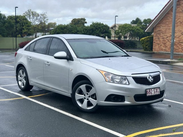 Used Holden Cruze JH Series II MY13 Equipe, 2012 Holden Cruze JH Series II MY13 Equipe Silver 6 Speed Sports Automatic Sedan