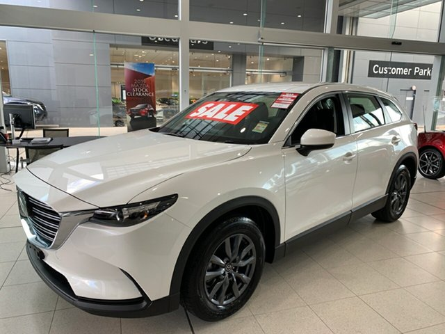 New Mazda CX-9 TC Sport SKYACTIV-Drive, 2020 Mazda CX-9 TC Sport SKYACTIV-Drive Snowflake White 6 Speed Sports Automatic Wagon