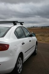 2006 Mazda 3 BK Neo White 4 Speed Auto Activematic Sedan