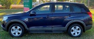 2010 Holden Captiva CG MY10 SX Blue 5 Speed Sports Automatic Wagon