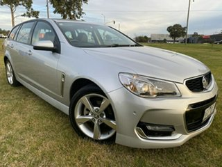 2015 Holden Commodore VF MY15 SV6 Sportwagon Silver 6 Speed Sports Automatic Wagon.