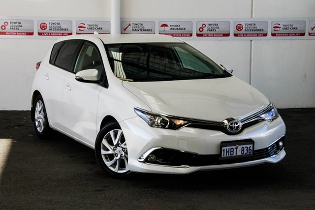 Used Toyota Corolla ZRE182R Ascent Sport S-CVT, 2018 Toyota Corolla ZRE182R Ascent Sport S-CVT Crystal Pearl 7 Speed Constant Variable Hatchback