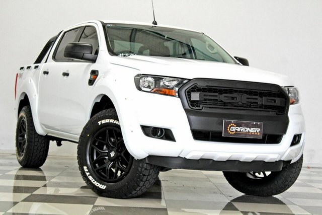 Used Ford Ranger PX MkII MY18 XL 3.2 (4x4), 2018 Ford Ranger PX MkII MY18 XL 3.2 (4x4) White 6 Speed Automatic Crew Cab Utility