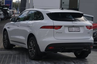 2019 Jaguar F-PACE X761 MY20 R-Sport Fuji White 8 Speed Sports Automatic Wagon.