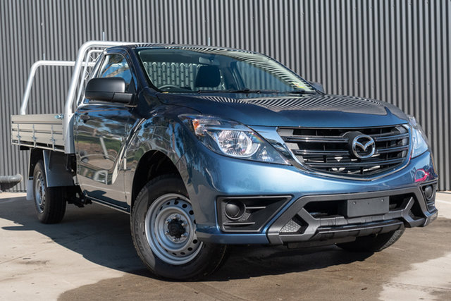 New Mazda BT-50 UR0YE1 XT 4x2, 2020 Mazda BT-50 UR0YE1 XT 4x2 Eternal Blue 6 Speed Manual Cab Chassis