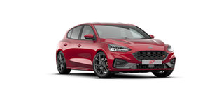 2020 Ford Focus ST Fantastic Red 7 Speed Automatic Hatchback