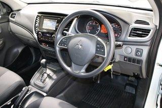 2017 Mitsubishi Triton MQ MY17 GLX Plus (4x4) White 5 Speed Automatic Dual Cab Utility
