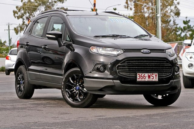 Used Ford Ecosport BK Titanium PwrShift, 2016 Ford Ecosport BK Titanium PwrShift Black 6 Speed Sports Automatic Dual Clutch Wagon