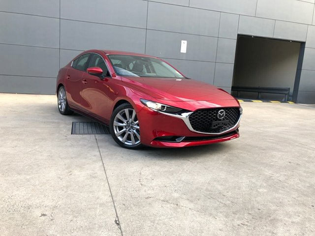 New Mazda 3 BP2SLA G25 SKYACTIV-Drive GT, 2020 Mazda 3 BP2SLA G25 SKYACTIV-Drive GT Soul Red Crystal 6 Speed Sports Automatic Sedan