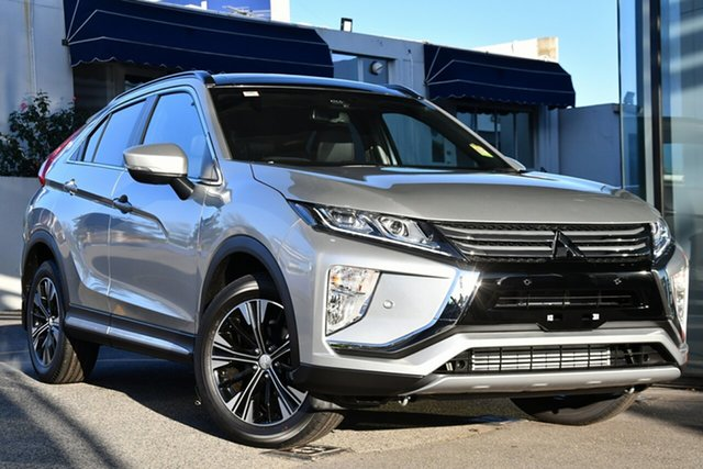 New Mitsubishi Eclipse Cross YA MY20 Exceed 2WD, 2020 Mitsubishi Eclipse Cross YA MY20 Exceed 2WD Sterling Silver 8 Speed Constant Variable Wagon