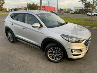 2019 Hyundai Tucson TL3 MY20 Elite D-CT AWD Silver 7 Speed Sports Automatic Dual Clutch Wagon.