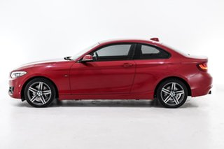 2015 BMW 2 Series F22 220i Sport Line Red 8 Speed Sports Automatic Coupe