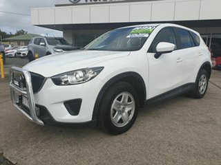 2014 Mazda CX-5 Maxx White Automatic Wagon.