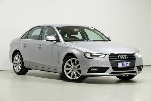 Used Audi A4 B8 (8K) MY14 2.0 TFSI Quattro, 2014 Audi A4 B8 (8K) MY14 2.0 TFSI Quattro Silver 7 Speed Auto Direct Shift Sedan