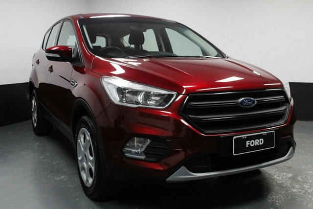 Used Ford Escape ZG Ambiente 2WD, 2017 Ford Escape ZG Ambiente 2WD Red 6 Speed Sports Automatic Wagon