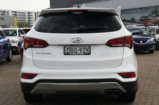 2015 Hyundai Santa Fe DM Series II (DM3) Elite CRDi (4x4) White 6 Speed Automatic Wagon