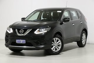 2015 Nissan X-Trail T32 ST (4x4) Black Continuous Variable Wagon.