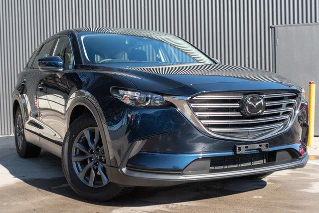 New Mazda CX-9 TC Sport SKYACTIV-Drive i-ACTIV AWD, 2020 Mazda CX-9 TC Sport SKYACTIV-Drive i-ACTIV AWD Deep Crystal Blue 6 Speed Sports Automatic Wagon