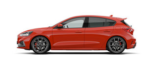 2020 Ford Focus ST Race Red 6 Speed Manual Hatchback.