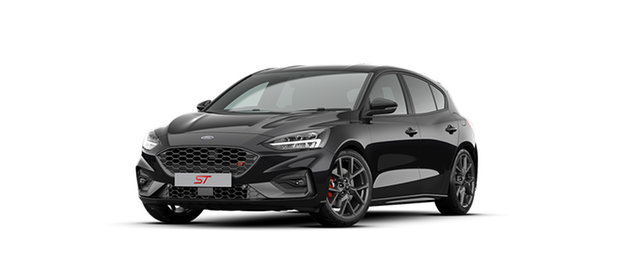New Ford Focus SA 2020.25MY ST Christies Beach, 2020 Ford Focus SA 2020.25MY ST Agate Black 6 Speed Manual Hatchback