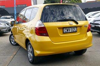 2006 Honda Jazz MY06 VTi Yellow 7 Speed CVT Auto Sequential Hatchback.