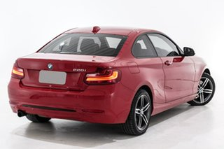 2015 BMW 2 Series F22 220i Sport Line Red 8 Speed Sports Automatic Coupe.