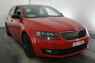 2016 Skoda Octavia NE MY17 Ambition Sedan DSG 110TSI Corrida Red 7 Speed.