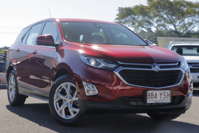 Used Holden Equinox EQ MY18 LT FWD, 2018 Holden Equinox EQ MY18 LT FWD Red 6 Speed Sports Automatic Wagon
