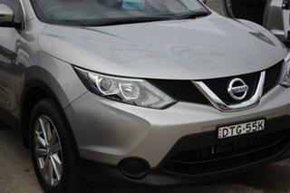 2017 Nissan Qashqai J11 ST Silver 1 Speed Constant Variable Wagon.