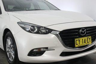 2017 Mazda 3 BN5476 Touring SKYACTIV-MT White 6 Speed Manual Hatchback.