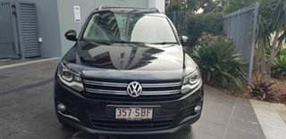 2011 Volkswagen Tiguan 5NC MY12 155 TSI (4x4) Black 7 Speed Auto Direct Shift Wagon.
