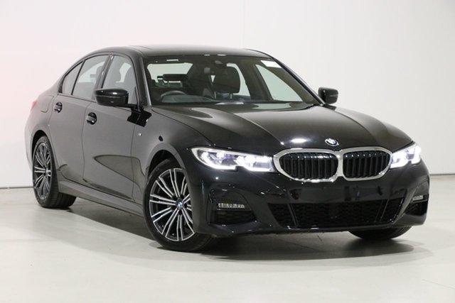 Used BMW 320d F30 LCI M Sport, 2019 BMW 320d F30 LCI M Sport Black 8 Speed Auto Steptronic Sport Sedan